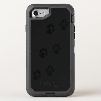 Capa Para iPhone 8/7 OtterBox Defender Impressões da pata de um cão