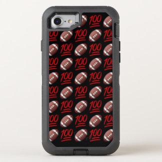 Capa Para iPhone 8/7 OtterBox Defender iPhone de Emoji do futebol 8/7 de caso de Otterbox