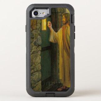 Capa Para iPhone 8/7 OtterBox Defender Jesus em seu vintage da porta