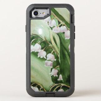 CAPA PARA iPhone 8/7 OtterBox DEFENDER LÍRIO LINDO DAS FLORES DO VALE