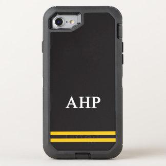 Capa Para iPhone 8/7 OtterBox Defender Listra alfa do esporte do ró   de Eta