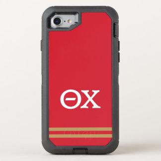 Capa Para iPhone 8/7 OtterBox Defender Listra do esporte do qui | da teta
