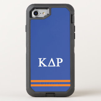 Capa Para iPhone 8/7 OtterBox Defender Listra do esporte do ró | do delta do Kappa