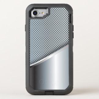 Capa Para iPhone 8/7 OtterBox Defender Malha de prata