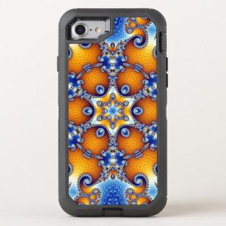 Capa Para iPhone 8/7 OtterBox Defender Mandala da vida do oceano