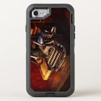 Capa Para iPhone 8/7 OtterBox Defender Máquina de dactilografia de Steampunk - de Oliver
