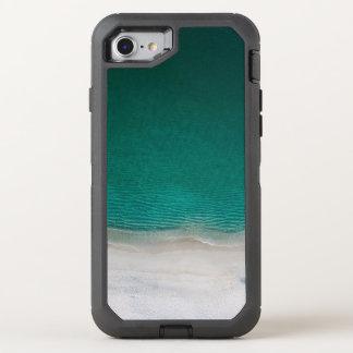 Capa Para iPhone 8/7 OtterBox Defender Mar tropical de turquesa da praia