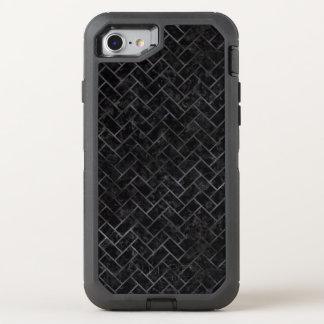 CAPA PARA iPhone 8/7 OtterBox DEFENDER MÁRMORE BRICK2 PRETO & AGUARELA PRETA