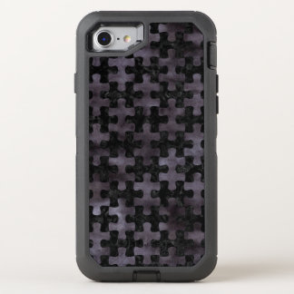CAPA PARA iPhone 8/7 OtterBox DEFENDER MÁRMORE PUZZLE1 PRETO & AGUARELA PRETA