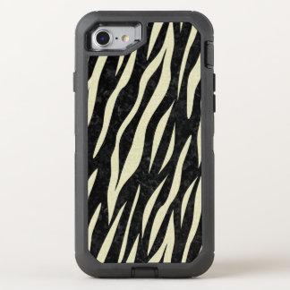 CAPA PARA iPhone 8/7 OtterBox DEFENDER MÁRMORE SKIN3 PRETO & LINHO BEGE