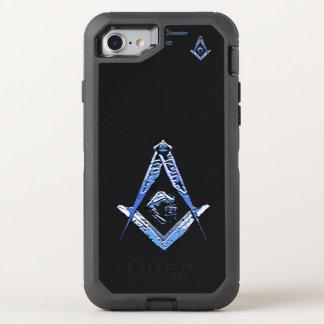 Capa Para iPhone 8/7 OtterBox Defender Mentes maçónicas (azuis)