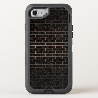CAPA PARA iPhone 8/7 OtterBox DEFENDER METAL PRETO DO MÁRMORE BRICK1 & DO BRONZE