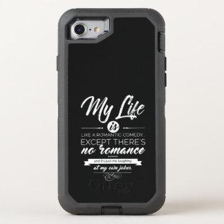 Capa Para iPhone 8/7 OtterBox Defender Minha vida é como uma comédia romântica