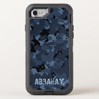 Capa Para iPhone 8/7 OtterBox Defender Modelo conhecido de Camo da noite