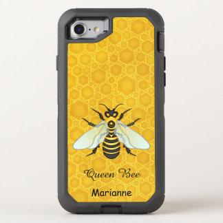 Capa Para iPhone 8/7 OtterBox Defender O favo de mel | bonito da abelha da abelha de