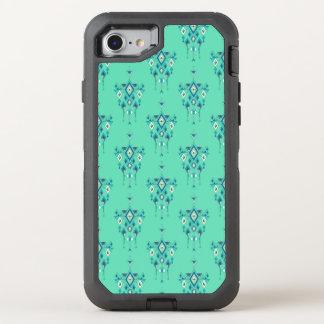 Capa Para iPhone 8/7 OtterBox Defender Ornamento asteca tribal étnico do vintage