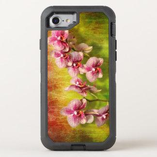Capa Para iPhone 8/7 OtterBox Defender Orquídea - Phalaenopsis - simplesmente um prazer