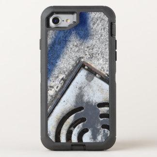 Capa Para iPhone 8/7 OtterBox Defender Os ganhos no fogo enegrecem para fora o iphone