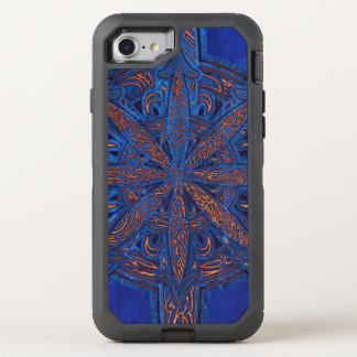 Capa Para iPhone 8/7 OtterBox Defender Ouro no caos azul