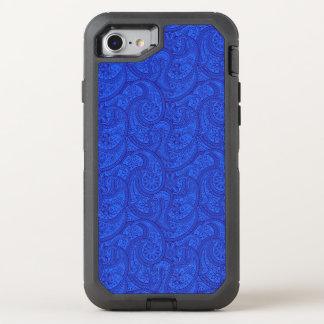 Capa Para iPhone 8/7 OtterBox Defender Paisley azul