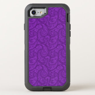 Capa Para iPhone 8/7 OtterBox Defender Paisley roxo