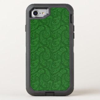 Capa Para iPhone 8/7 OtterBox Defender Paisley verde