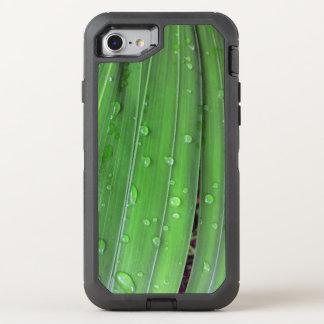 Capa Para iPhone 8/7 OtterBox Defender Palma e pingos de chuva do Natal