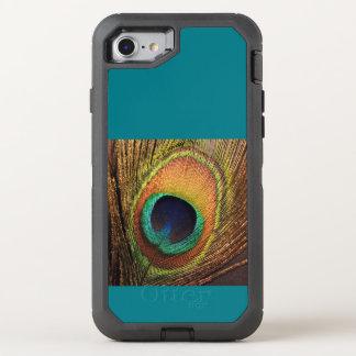 Capa Para iPhone 8/7 OtterBox Defender Pavão 4Carla da cerceta