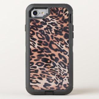 Capa Para iPhone 8/7 OtterBox Defender Pele do leopardo