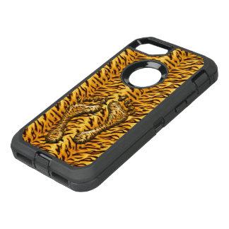 Capa Para iPhone 8/7 OtterBox Defender Pés do tigre