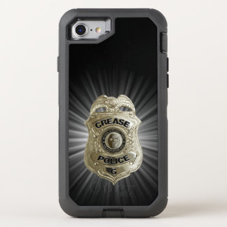 Capa Para iPhone 8/7 OtterBox Defender Polícia do vinco (Goalie do hóquei)