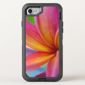 Capa Para iPhone 8/7 OtterBox Defender Profundo amarelo alaranjado - flor tropical