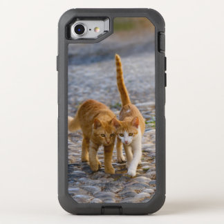 Capa Para iPhone 8/7 OtterBox Defender _Rochoso da foto do trajeto dos amigos peluches