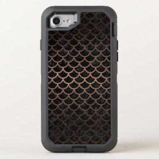 CAPA PARA iPhone 8/7 OtterBox DEFENDER SCA1 BK-MRBL BZ-MTL