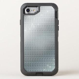 Capa Para iPhone 8/7 OtterBox Defender Sequin de prata metálico Sparkling