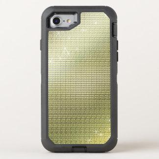 Capa Para iPhone 8/7 OtterBox Defender Sequin dourado metálico Sparkling