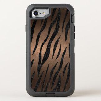 CAPA PARA iPhone 8/7 OtterBox DEFENDER SKN3 BK-MRBL BZ-MTL (R)