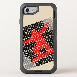Capa Para iPhone 8/7 OtterBox Defender Snowboarding #1 (preto)