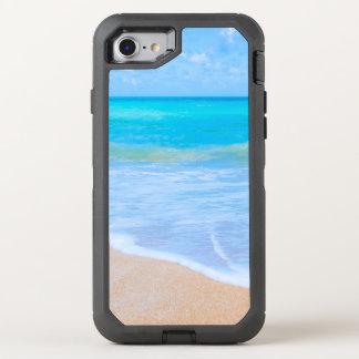 Capa Para iPhone 8/7 OtterBox Defender Sonho bonito do dia da água do Aqua dos dias da