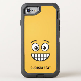Capa Para iPhone 8/7 OtterBox Defender Sorrindo a cara com olhos abertos