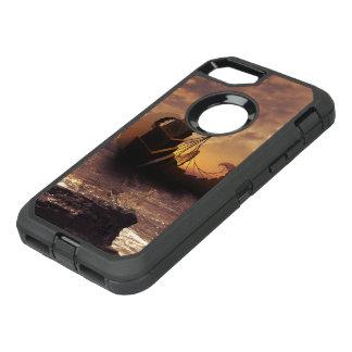 Capa Para iPhone 8/7 OtterBox Defender Steampunk Fractalscape, navio para todos os