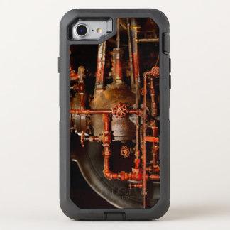 Capa Para iPhone 8/7 OtterBox Defender Steampunk - sonhos de tubulação