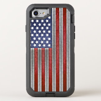 Capa Para iPhone 8/7 OtterBox Defender telemóvel da bandeira americana do iPhone