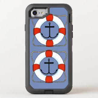 Capa Para iPhone 8/7 OtterBox Defender Telemóvel de Otterbox do barco da poupança e da