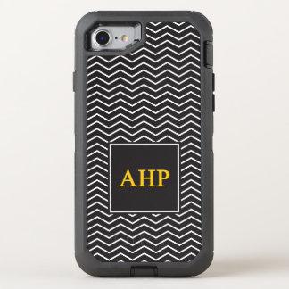Capa Para iPhone 8/7 OtterBox Defender Teste padrão alfa do ró   Chevron de Eta