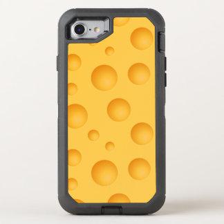 Capa Para iPhone 8/7 OtterBox Defender Teste padrão amarelo do queijo
