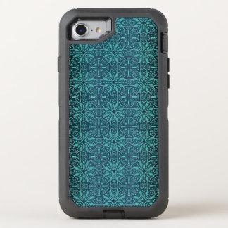 Capa Para iPhone 8/7 OtterBox Defender Teste padrão antigo real luxuoso floral
