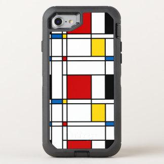 Capa Para iPhone 8/7 OtterBox Defender Teste padrão de de Stijl
