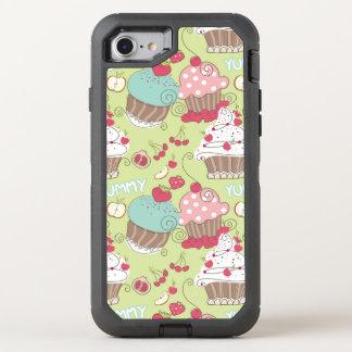 Capa Para iPhone 8/7 OtterBox Defender Teste padrão do cupcake