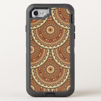 Capa Para iPhone 8/7 OtterBox Defender Teste padrão floral étnico abstrato colorido de da